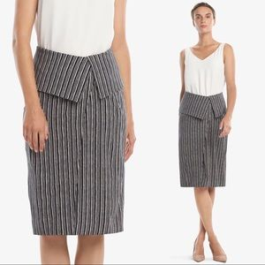 {MM Lafleur} The Montgomery Skirt—Thick Stripe
